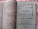 Société des sciences, lettres, arts et études régionales de Bayonne n°1 et 2, 1926. Collectif