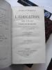 Lettres et entretiens sur l'éducation des filles par Madame de Maintenon. M.Th. Lavallée