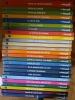 Archives Hergé Tintin reporter lot des 24 volumes correspondant au 24 albums Tintin. Hergé
