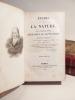 Etudes de la Nature.. BERNARDIN DE SAINT-PIERRE (Jacques-Henri)