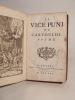 Le Vice puni, ou Cartouche, poëme (par Grandval). Relié avec : Le philosophe marié, ou Le mary honteux de l'être, comédie, par Destouches.. GRANDVAL, ...