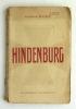 Hindenburg . BUAT Général