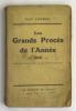 Les Grands Procès de l'Année. 1930. LONDON Geo