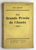 Les Grands Procès de l'Année. 1935. LONDON Geo