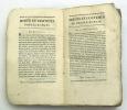 Des hommes illustres de la Ville de Rome depuis ROMULUS jusqu'à C. AUGUSTE. BOINVILLIERS J.E.J.F.