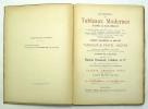 Catalogue des tableaux modernes (pastel et aquarelles). BOUSSOD Vente, VALADON & Cie