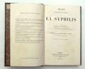 Traité historique et pratique de la syphilis. LANCEREAUX Docteur E.