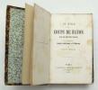 Du Rôle des Coups de Baton dans les relations sociales et en particulier, dans l'histoire littéraire. FOURNEL Victor