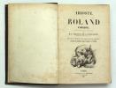 Roland Furieux. ARIOSTE