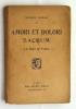 Amori et Dolori Sacrum. La Mort de Venise. BARRÈS Maurice