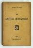 Les Amitiés Françaises. BARRÈS Maurice