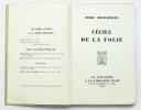 Cécile de la Folie. CHADOURNE Marc