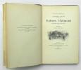 Robert Helmont, Journal d'un solitaire. DAUDET Alphonse