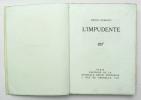 L'Impudente. DEBERLY Henri