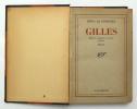 Gilles. DRIEU LA ROCHELLE Pierre