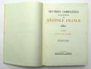 Oeuvres complètes illustrées. Tome V : Thaïs – L'Étui de nacre. FRANCE Anatole