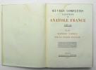 Oeuvres complètes illustrées, Tome XIII : Clio – Histoire comique – Sur la pierre blanche. FRANCE Anatole