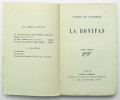 La Bonifas. LACRETELLE Jacques de