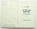 Jean-Daniel-Abraham Davel le patriote sans patrie. LANDRY C.F.