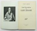 Sous l'invocation de Saint-Jérôme. LARBAUD Valéry