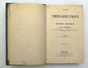 Traité de Thérapeutique. ROUSSEAU A. & PIDOUX H.