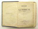 Histoire de la Commune de 1871. LISSAGARAY