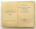 La Légende joyeuse ou Faitz & Dictz Joyeulx de Pierre Faifeu. BOURDIGNÉ Charles de