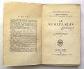 Le Ku Klux Klan. MECKLIN John Moffatt