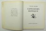 Concours hippique. BENOIST-GIRONIERE Yves