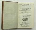 Dictionnaire historique des sièges et batailles mémorables de l'histoire ancienne et moderne. Volume II : F - O. .