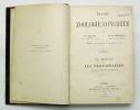 Traité de Zoologie concrète. Leçons professées à la Sorbonne. DELAGE Yves & HÉROUARD Édouard