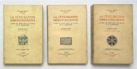 La Civilisation Mérovingienne d'après les sépultures, les textes et le laboratoire. SALIN Édouard