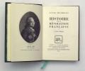 Histoire de la Révolution Française. MICHELET Jules