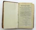 Dictionnaire de Médecine Pratique et de Chirurgie, mis à la portée de tout le monde. POUGENS Alexandre