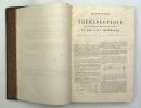 Dictionnaire de Thérapeutique de matière médicale, de pharmacologie, de toxicologie et des eaux minérales. DUJARDIN-BEAUMETZ